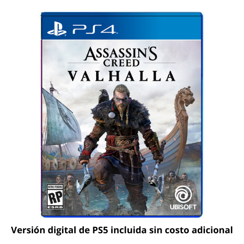 [INN03726] Juego Assassin's Creed Valhalla PS4 - PS5