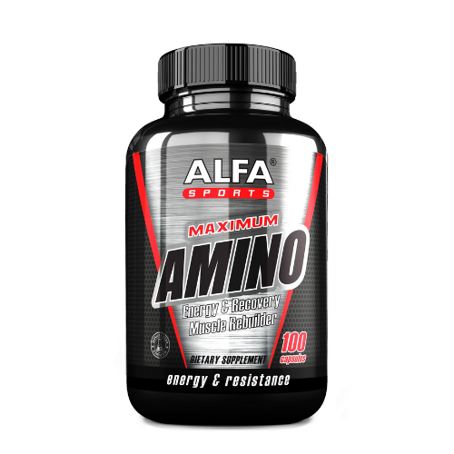 [INN0844] Aminoácido Maximum Amino - 100 Capsulas
