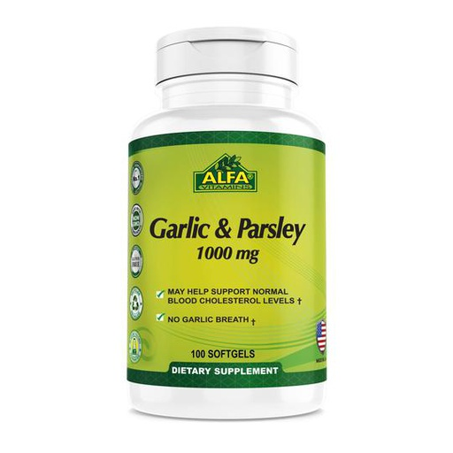 [INN0872] Vitaminas Alfa Garlic & Parsley 100 Capsulas