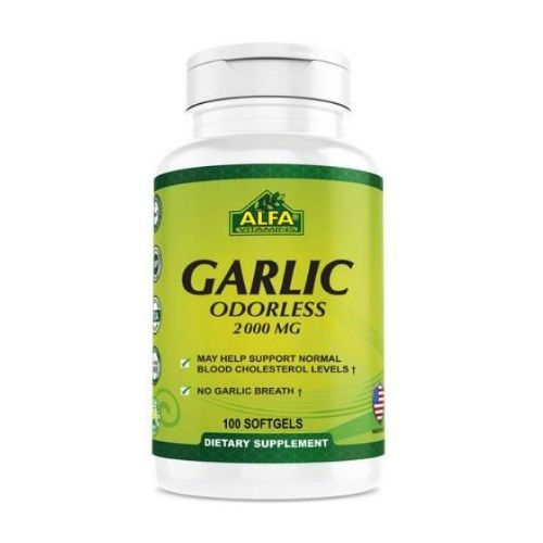[INN0773] Vitaminas Alfa Garlic Odorless